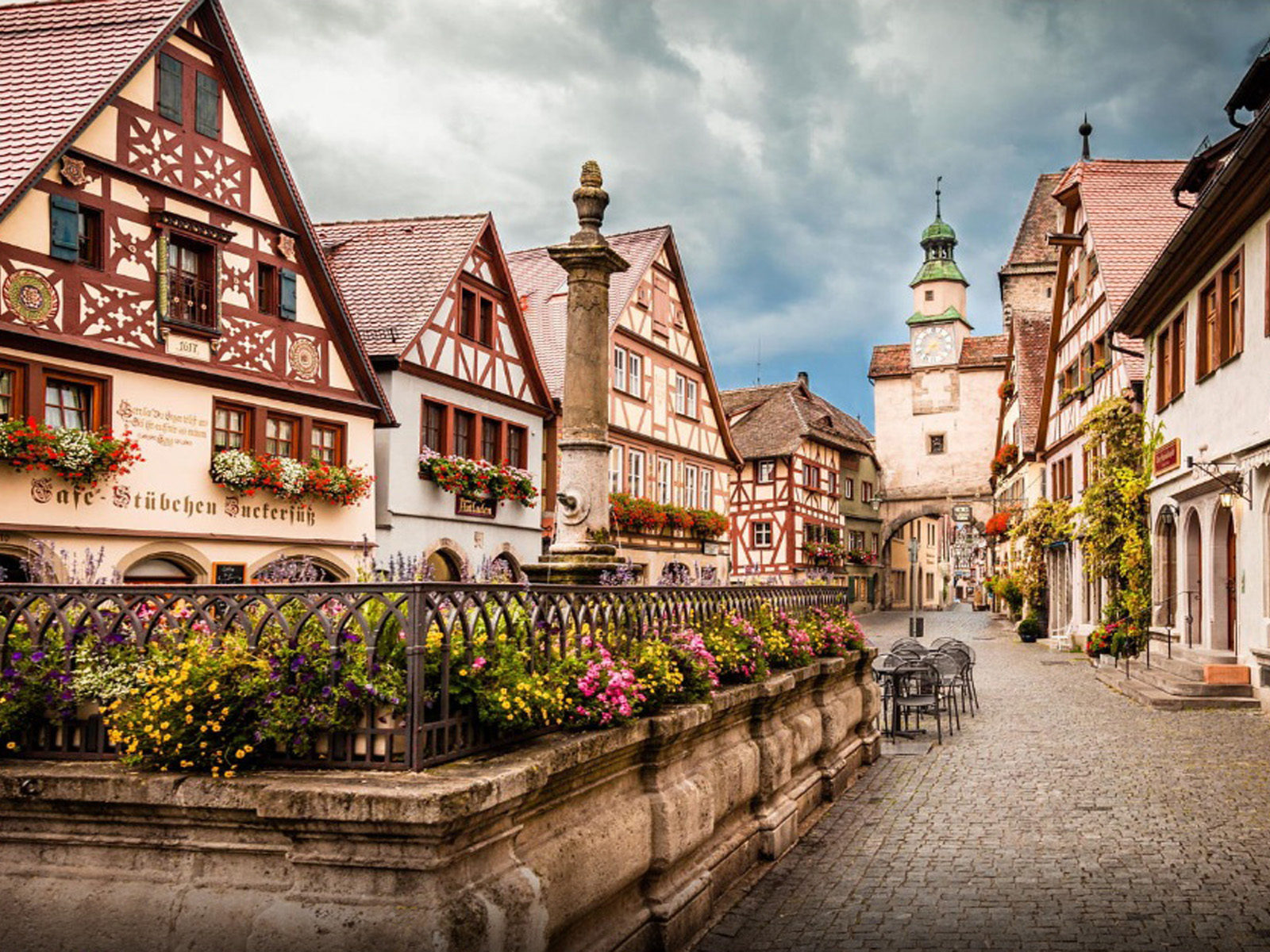 Cute Duck Wallpapers Wonderful Little Town In Germany Rothenburg Ob Der Tauber