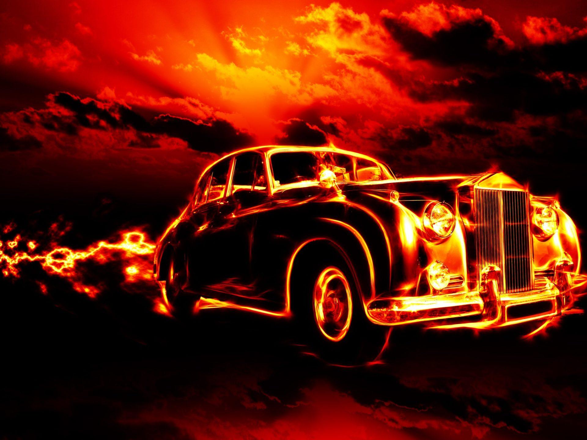 Iphone 5 Car Wallpaper Fire Classic Car Hd Wallpapers For Desktop 2880x1800