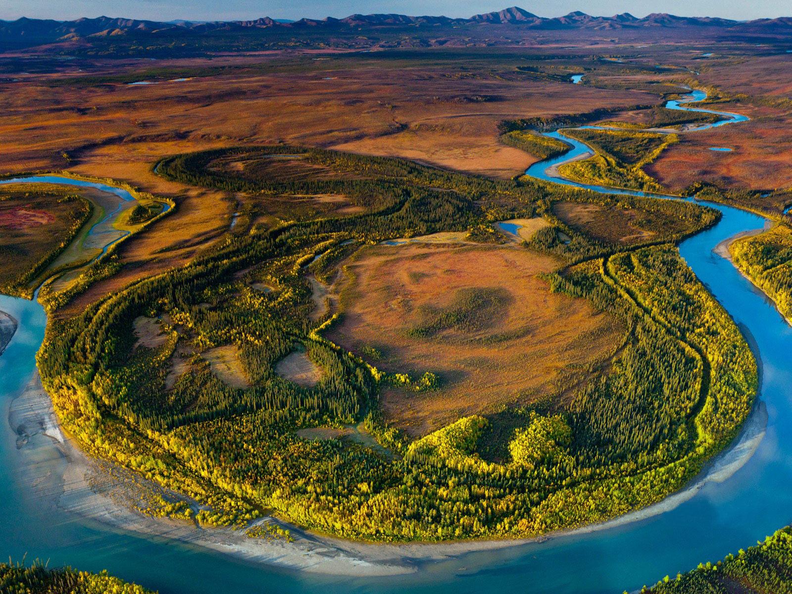 Fall River Wallpaper Gates Of The Arctic National Park And Preserve Alaska