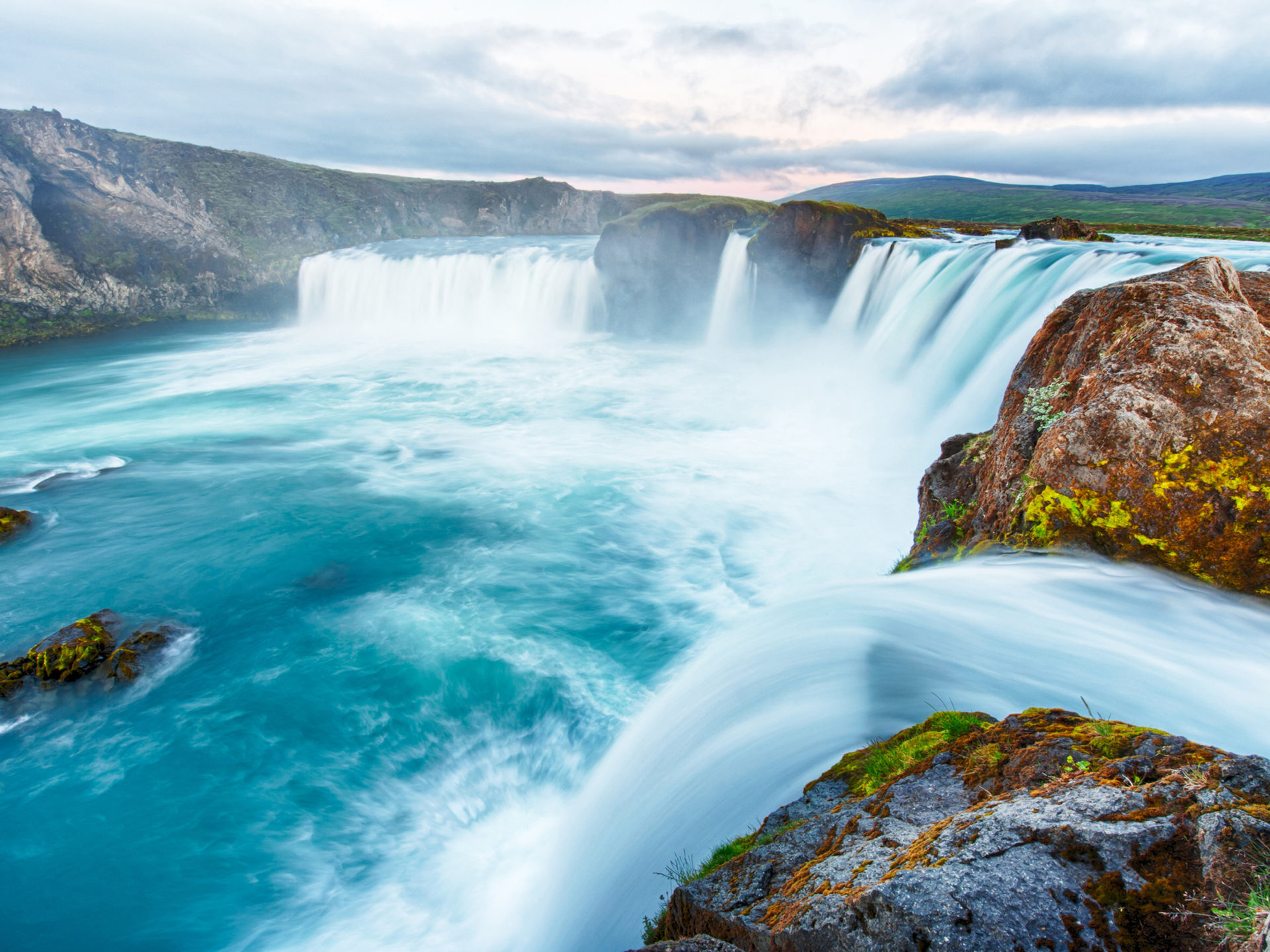 Animated Fall Wallpaper The Go 240 Afoss Iceland Waterfall Of The Gods Or Waterfall