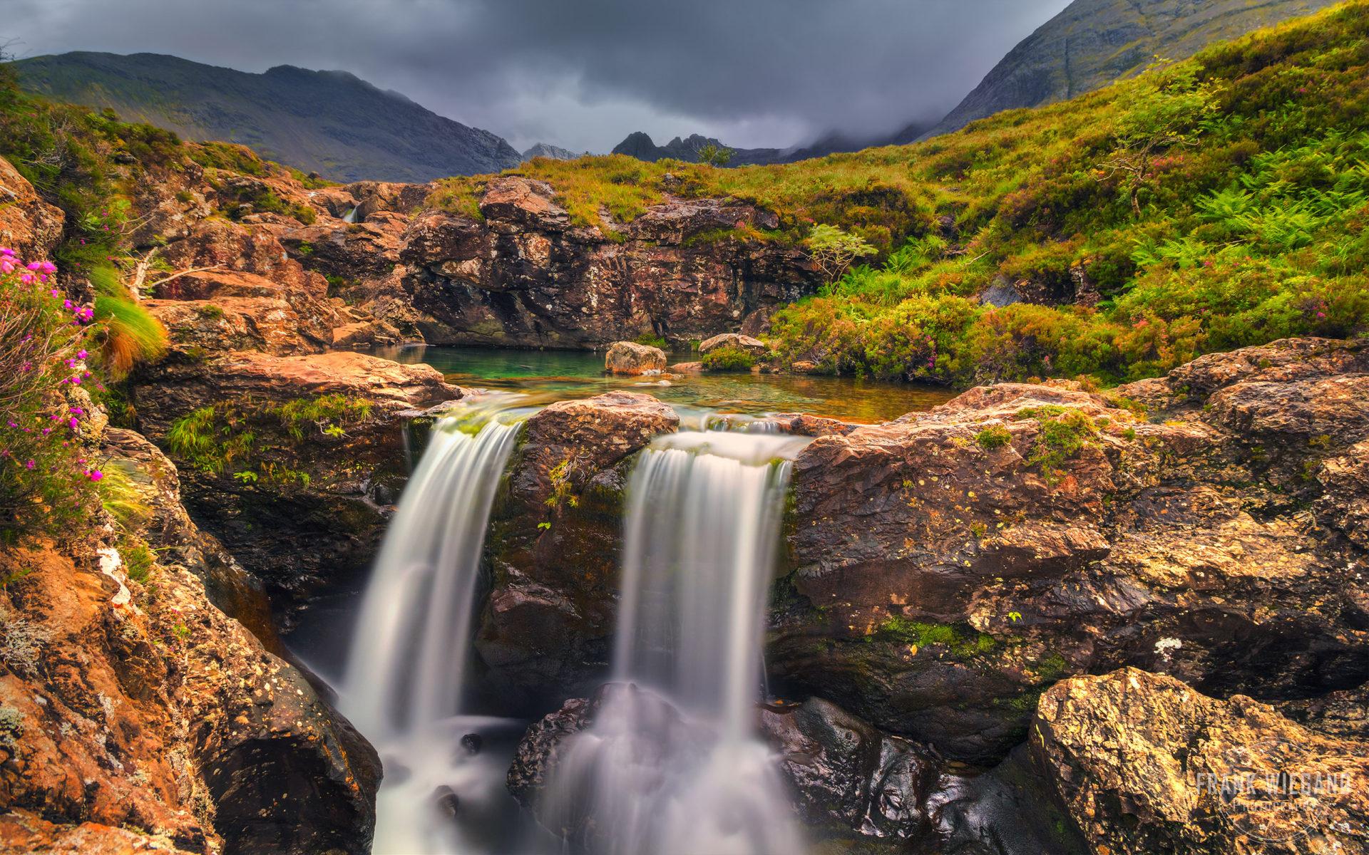 Beautiful Water Fall Scenery Wallpapers True Fairy Pools Isle Of Skye Scotland Wallpaper For