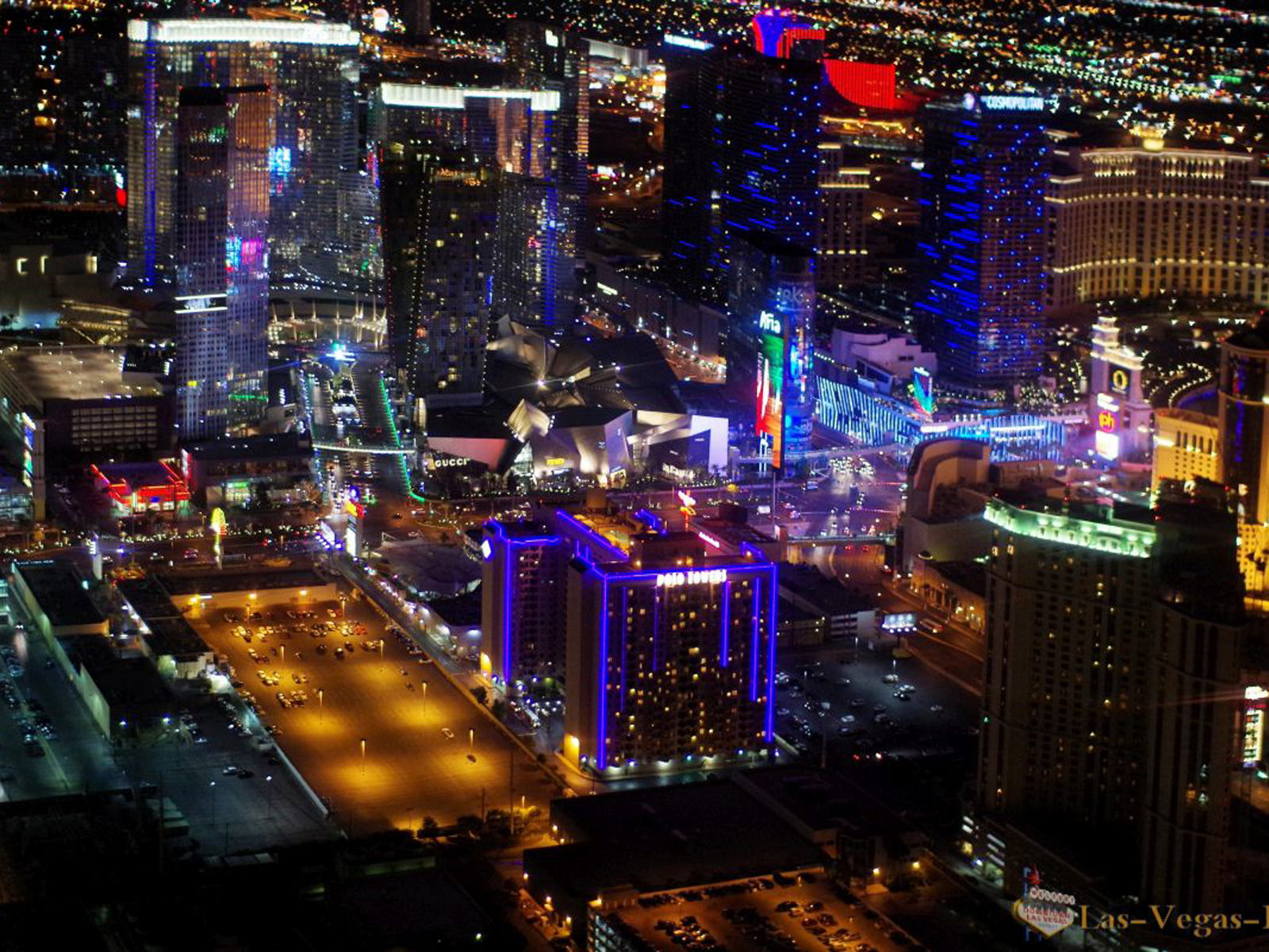 New Hd Wallpapers For Pc Free Download Las Vegas City Center Night A Photo Of Helicopter Desktop