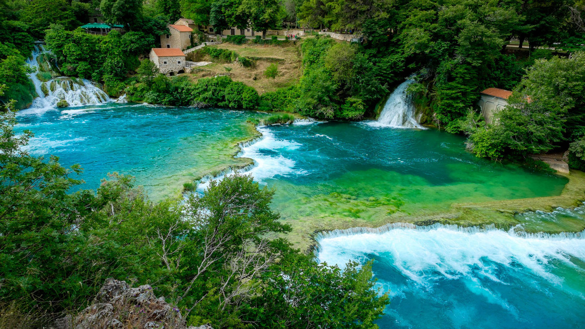Cool Wallpapers Water Fall Plitvice Lakes Waterfalls On The River Krka National Park