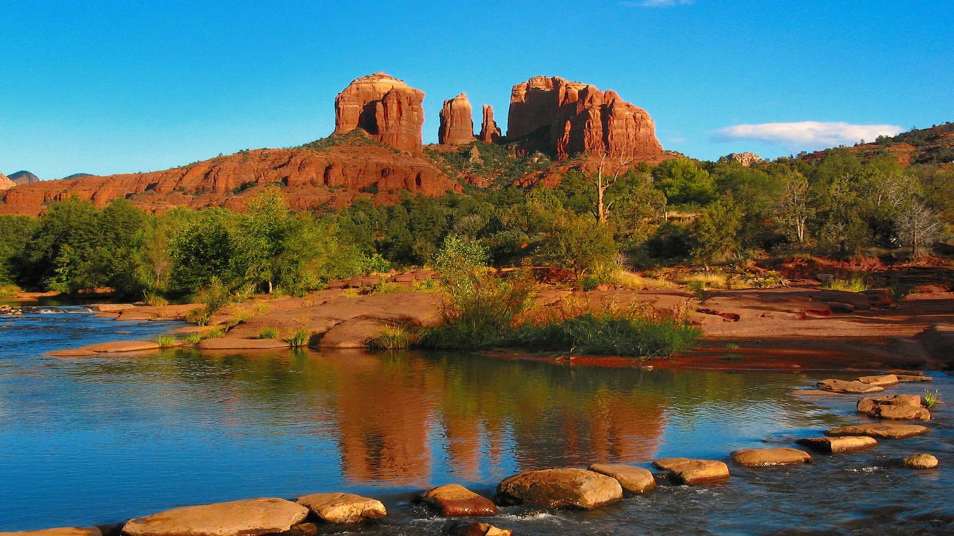 Boise State Wallpaper For Iphone Cathedral Rock Is A Famous Landmark Of Sedona Arizona Is