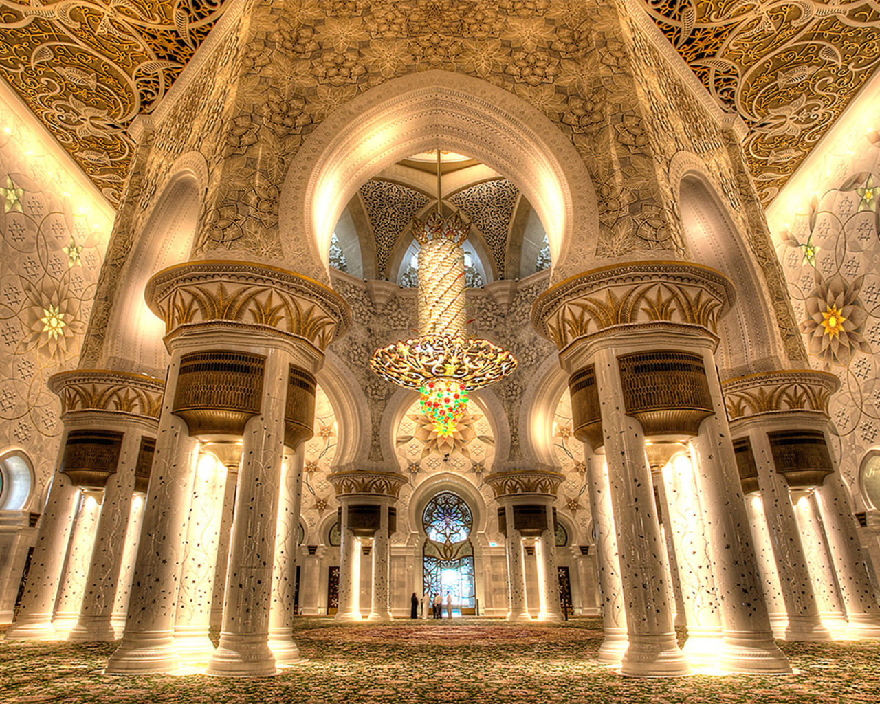 Inside Iphone X Wallpaper Grand Mosque Sheikh Zayed Abu Dhabi Interior Design Main