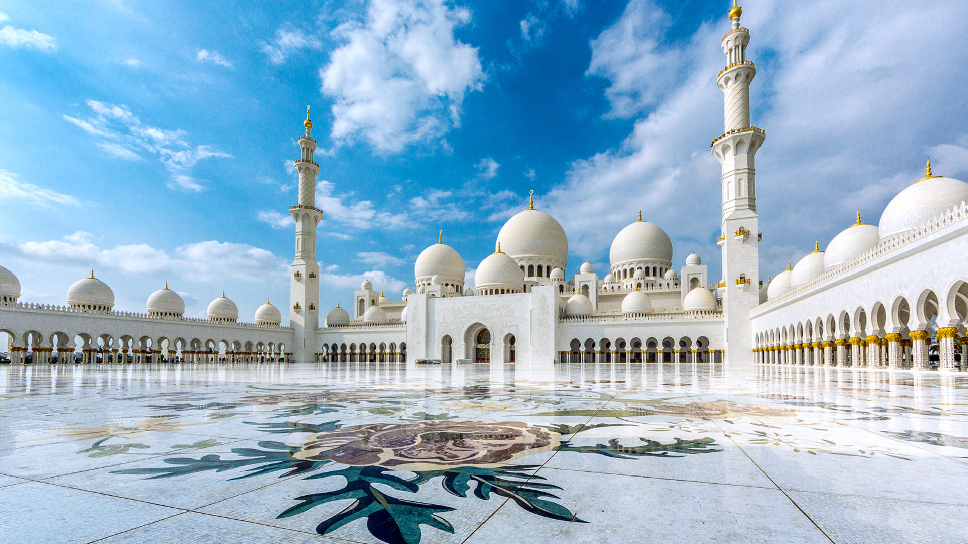 Sheikh Zayed Mosque Abu Dhabi For External Cladding Of