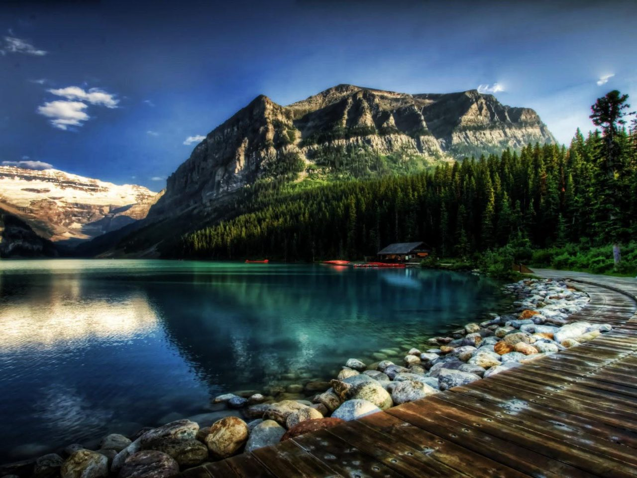 Fall Beach Wallpaper Lake Louise Alberta Canada Fantastic Desktop Wallpaper