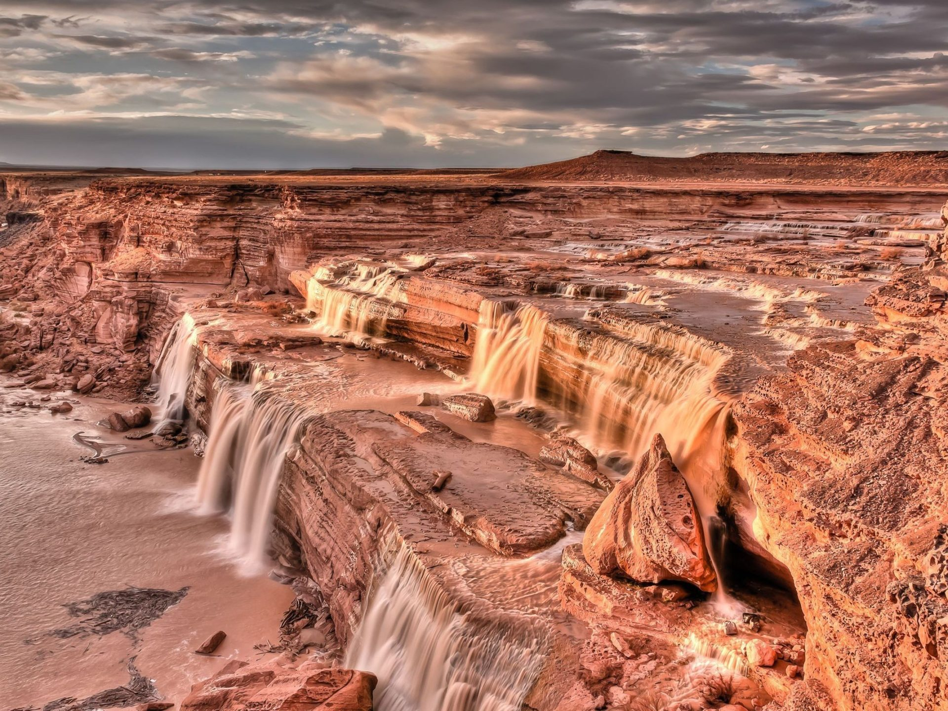 Free Hd Wallpaper For Android Tablet Grand Falls Waterfall Is Located 30 Miles Northeast Of
