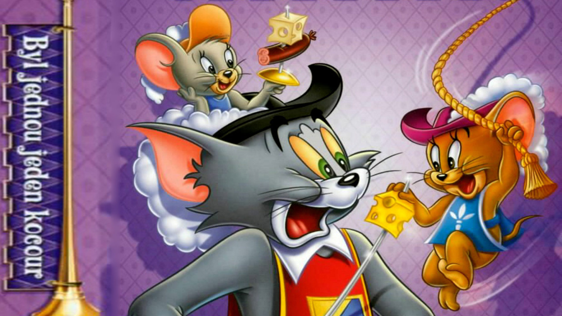 Cute Anime Lock Screen Wallpaper Tom Jerry Once Upon A Tomcat Wallpapers Hd 2560x1600