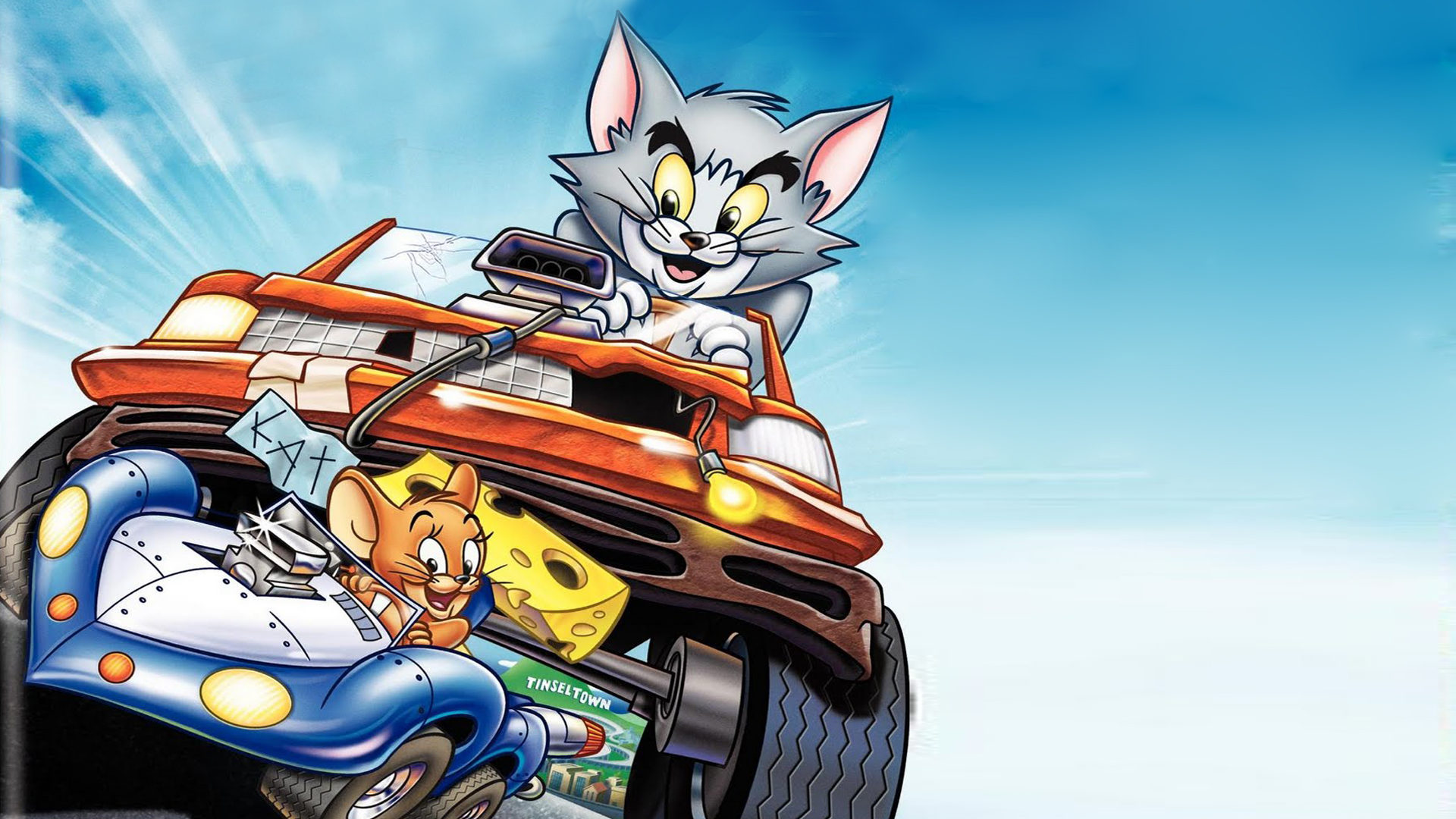 Full Hd 1080p Wallpapers Cars Tom And Jerry The Fast And The Furry Animated Action