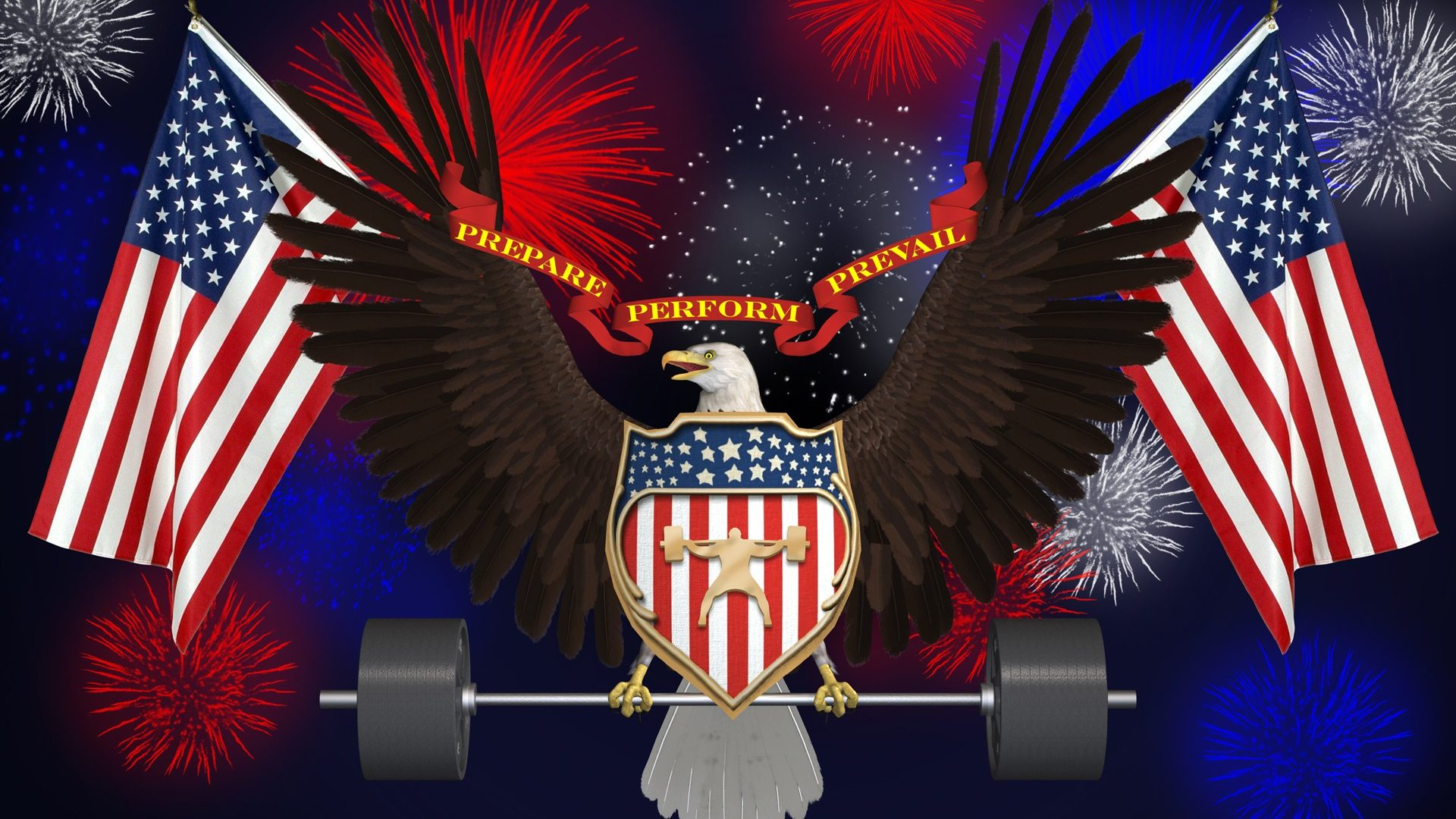 Weight Lifting Wallpaper Iphone American Eagle And Flag Images July Usa Fireworks Memorial