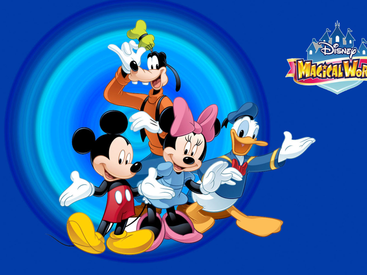 Walt Disney World Iphone Wallpaper Disney Magical World Mickey Mouse Cartoon Hd Wallpaper