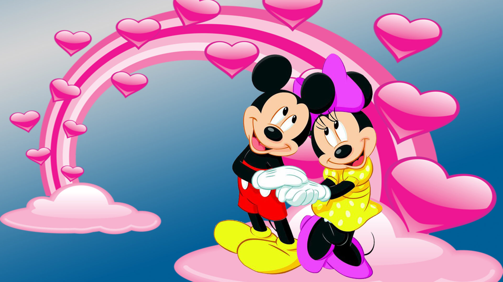 How To Get A Live Wallpaper On Iphone X Mickey And Minnie Mouse Photo By Love Desktop Hd Wallpaper