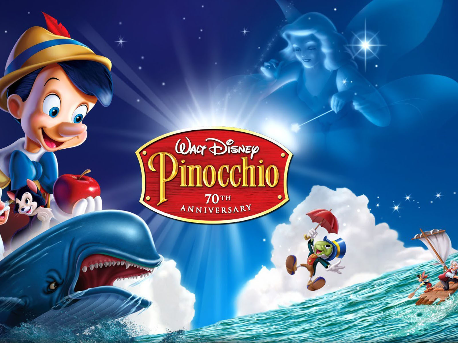Cars 2 Cartoon Wallpaper Walt Disney Pinocchio First Time Ever On 2 Disc Platinum