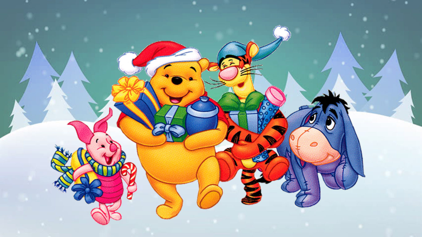 Inspirational Quotes Wallpaper Download Winnie The Pooh And Friends Cartoon Christmas Gifts Hd
