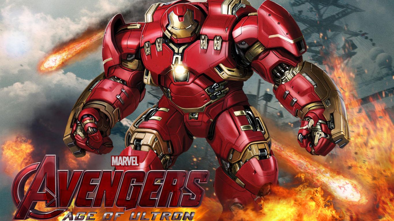 Hd Wallpapers For Laptop 15 6 Inch Screen Avengers Age Of Ultron Hulk Buster Desktop Hd Wallpaper