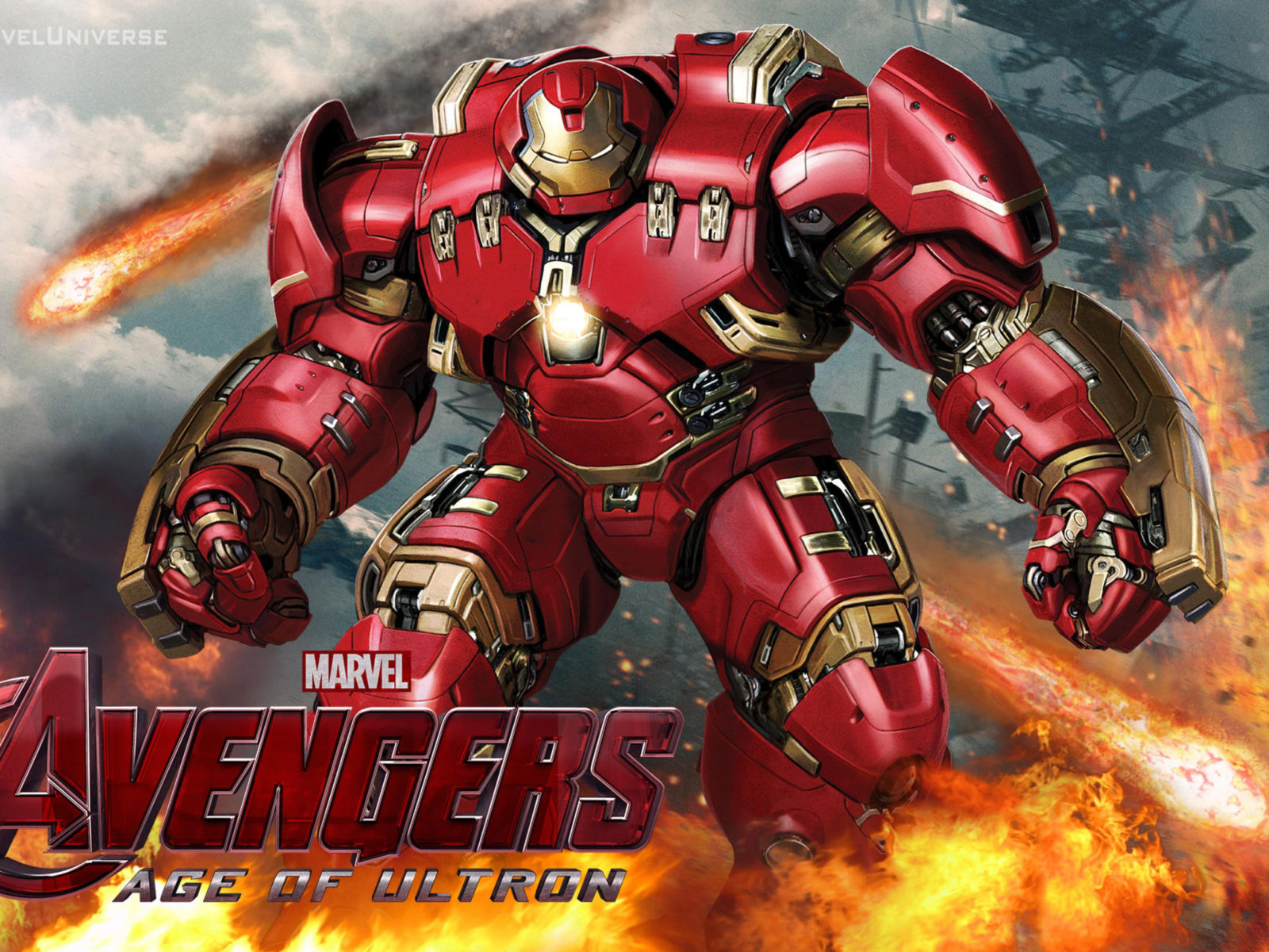 Wallpaper Cars Movie Avengers Age Of Ultron Hulk Buster Desktop Hd Wallpaper