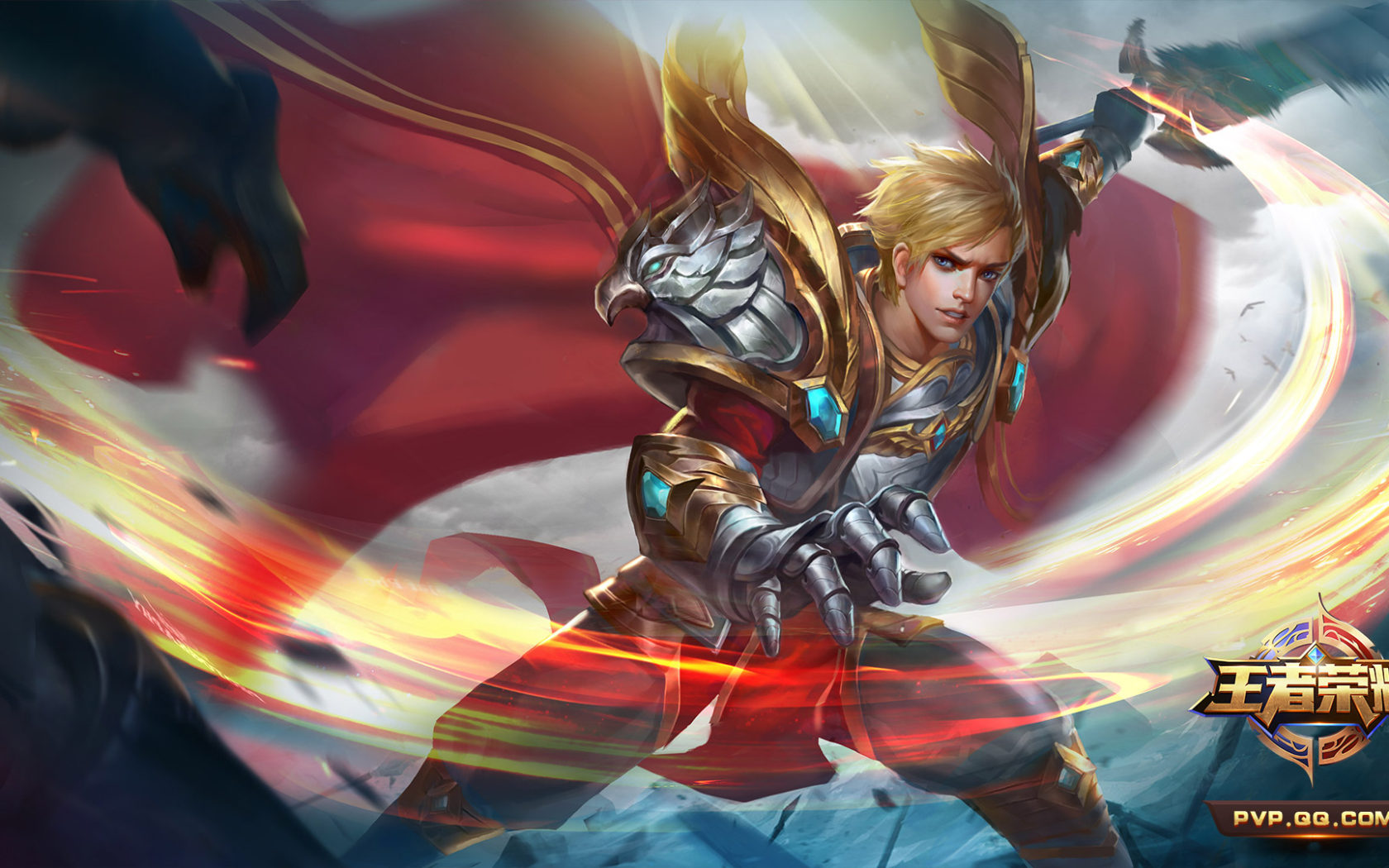 Girl Wallpaper For Iphone 5 Liu Bang Hero Character In The Video Game King Of Glory
