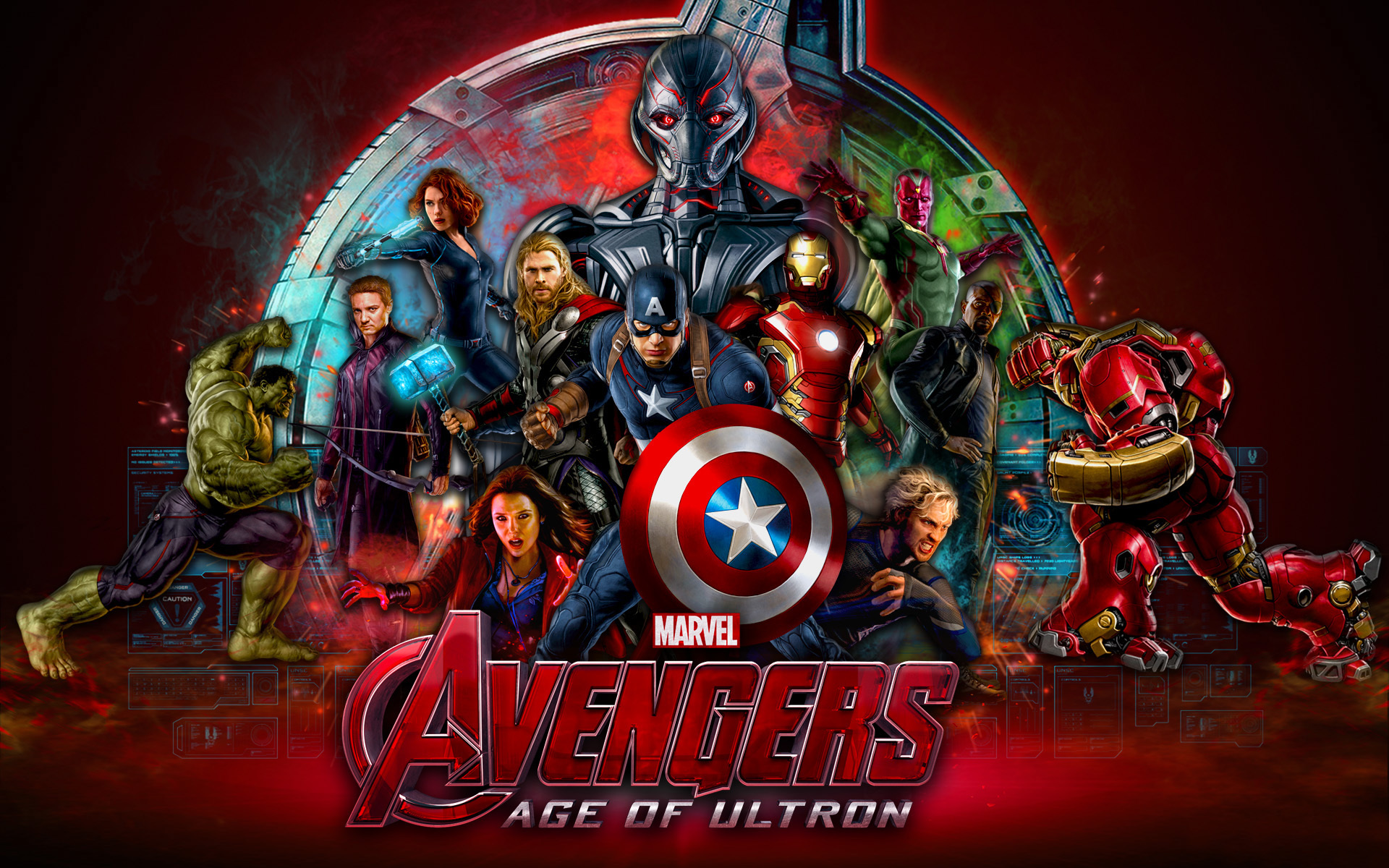 Cars The Movie Wallpapers Free Marvel Studios Avengers Age Of Ultron 2015 Desktop