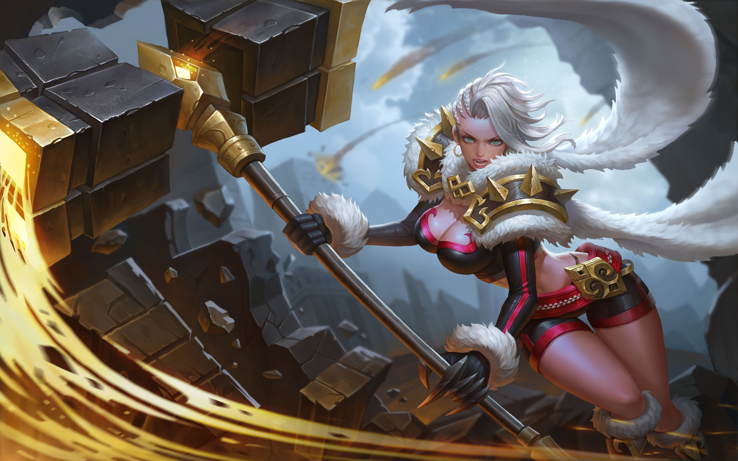 Hd Girl Wallpaper For Android Popular Mobile Games King Of Glory Master Wu Yen Character