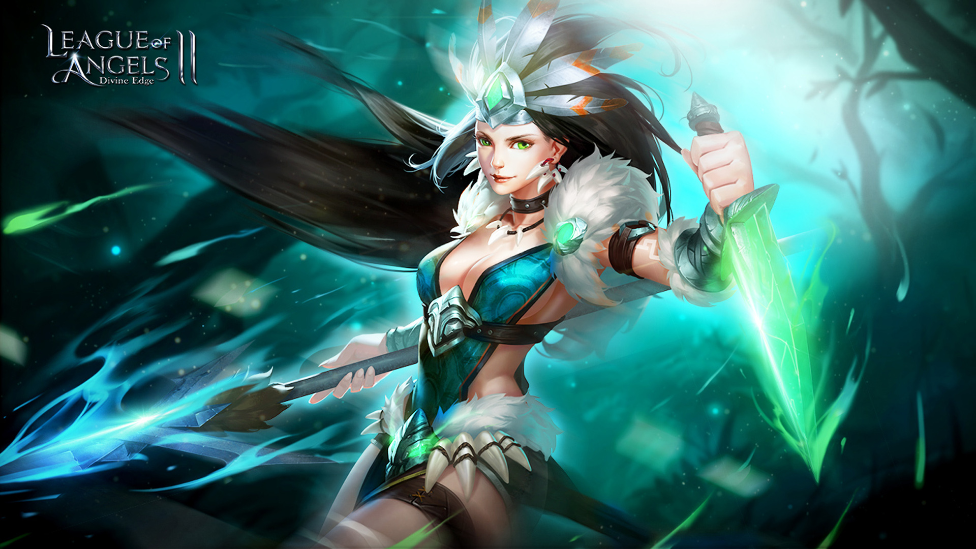 3d Lock Screen Wallpapers Hd Freda Angel Warrior League Of Legends Hd Wallpaper