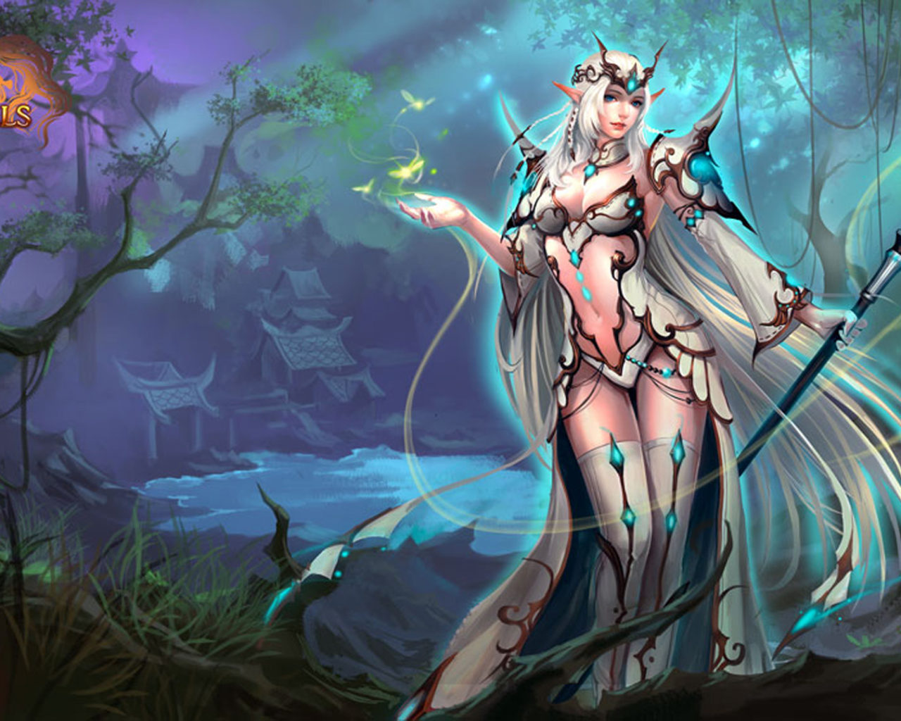 Beautiful Girl Wallpaper Hd 10 League Of Angels 2 Caracters Heroes Thera Girl Video Game