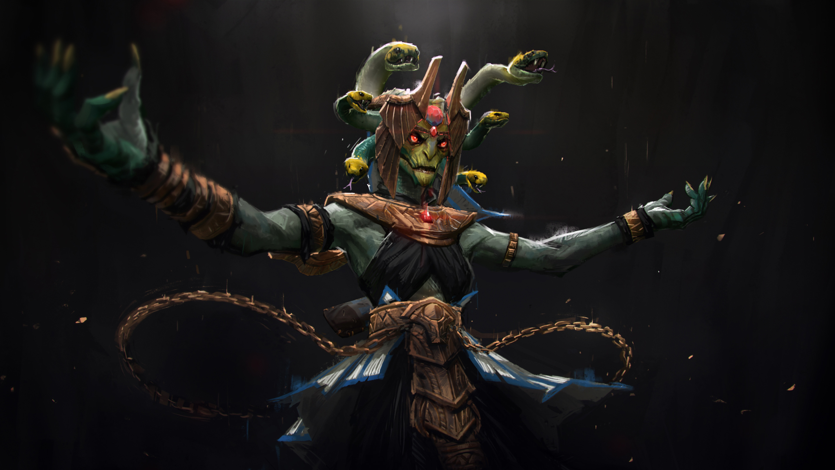 Free 3d Dinosaur Wallpaper Medusa Ranged Carry Disabler Durable Dota 2 Hd Wallpapers