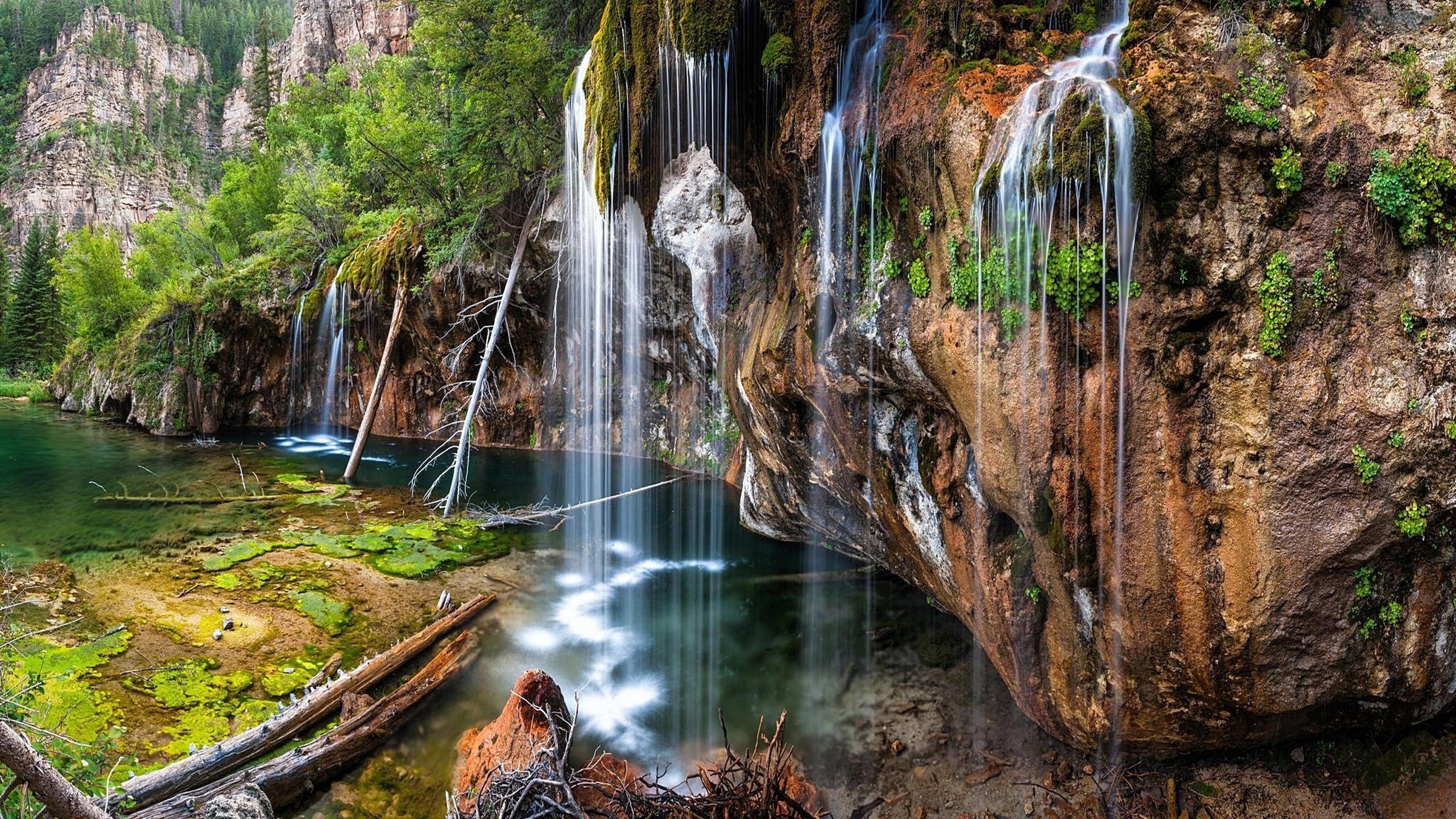 Fall Wallpaper 2017 Hanging Lake Glenwood Canyon 7 Miles East Of Glenwood