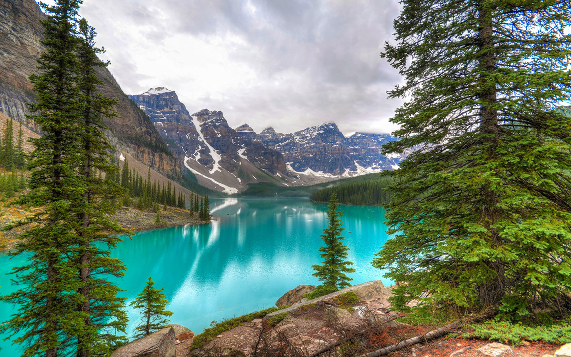 Full Hd Cars Wallpapers For Pc Natural Beauties Moraine Lake Banff National Park Is