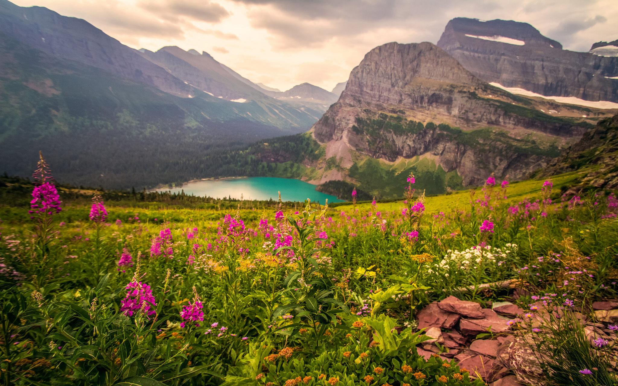 Windows 10 Wallpapers Hd Fall Glacier National Park Usa Awesome Place Rocky Mountain