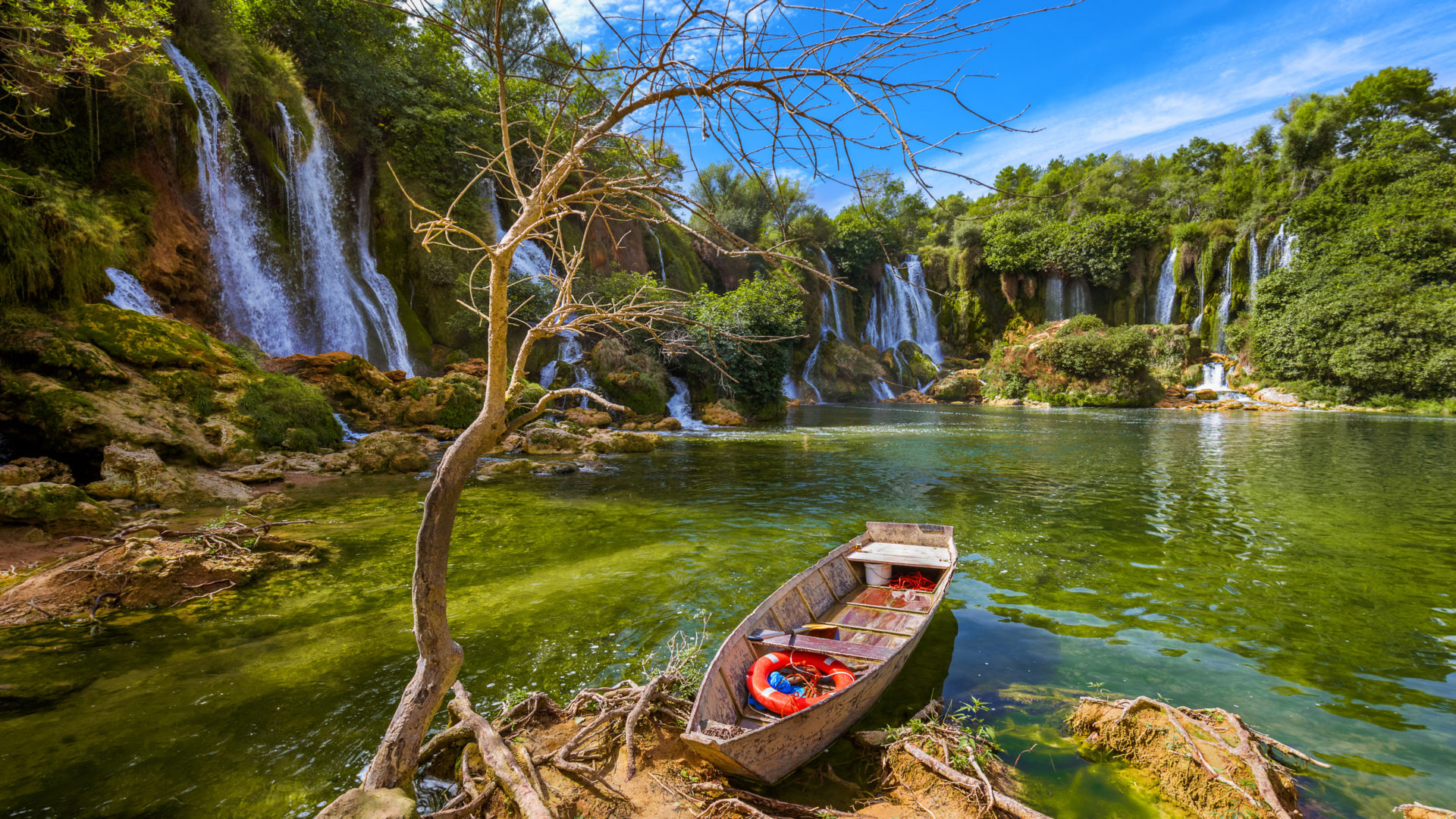 Natural Falls Wallpaper Free Download Waterfall Kravice In Bosnia And Herzegovina Beautiful