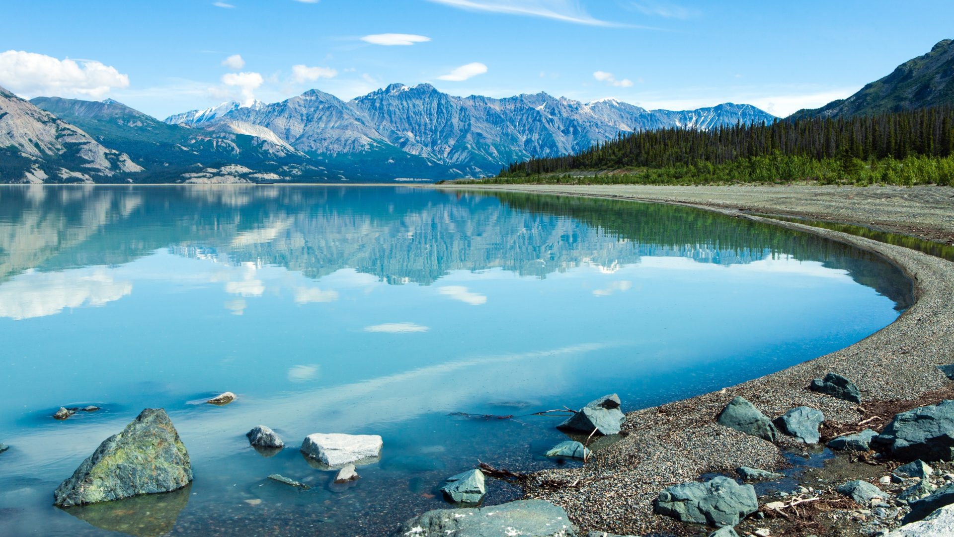 Awesome 3d Wallpapers For Pc Lake Kluane Southwest Area Of The Yukon Canada Kluane