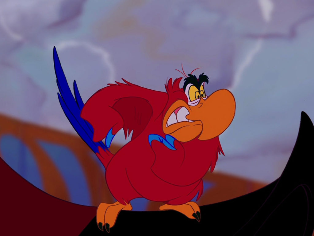 Lion Wallpaper Iphone Parrot Lago Character In The Cartoon Aladdin Walt Disney