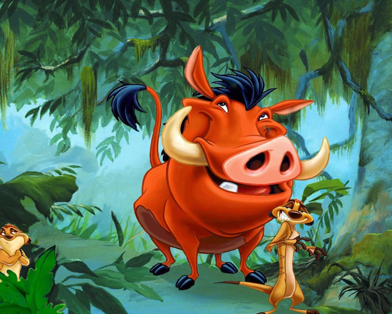 Disney Cars Wallpapers Free Timon And Pumbaa Characters From The Lion King Hd