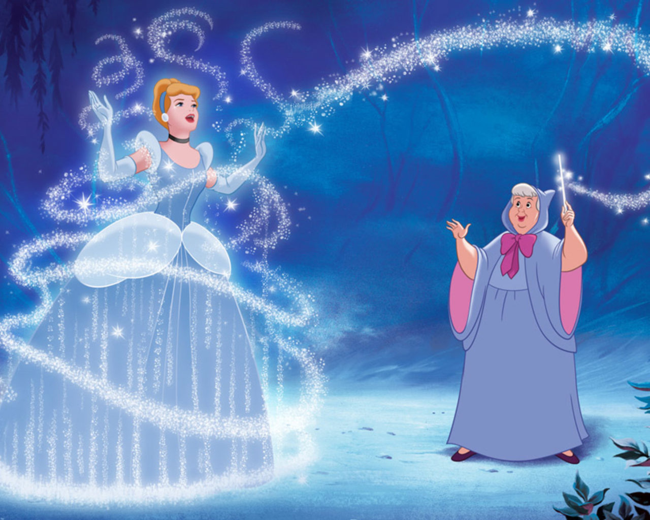 Disney Cars Wallpapers Free A Cinderella Story Fairy Godmother Uses Magic Cinderella
