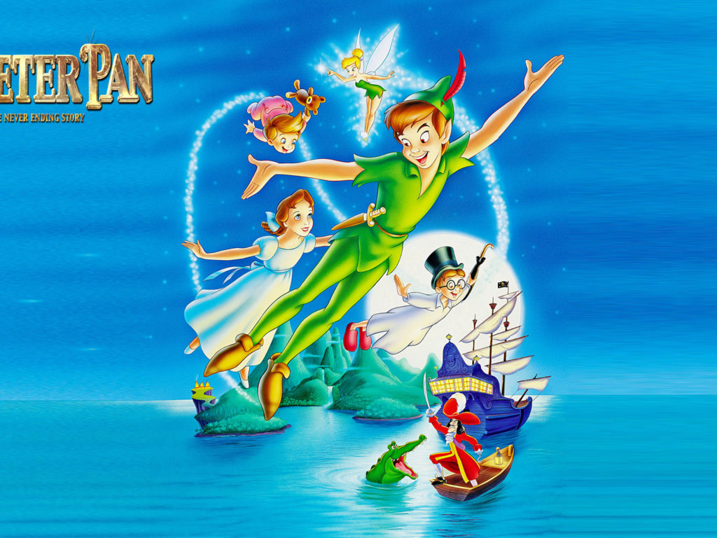 Cars The Movie Christmas Wallpaper The Adventures Of Peter Pan Movie Poster Image For Desktop