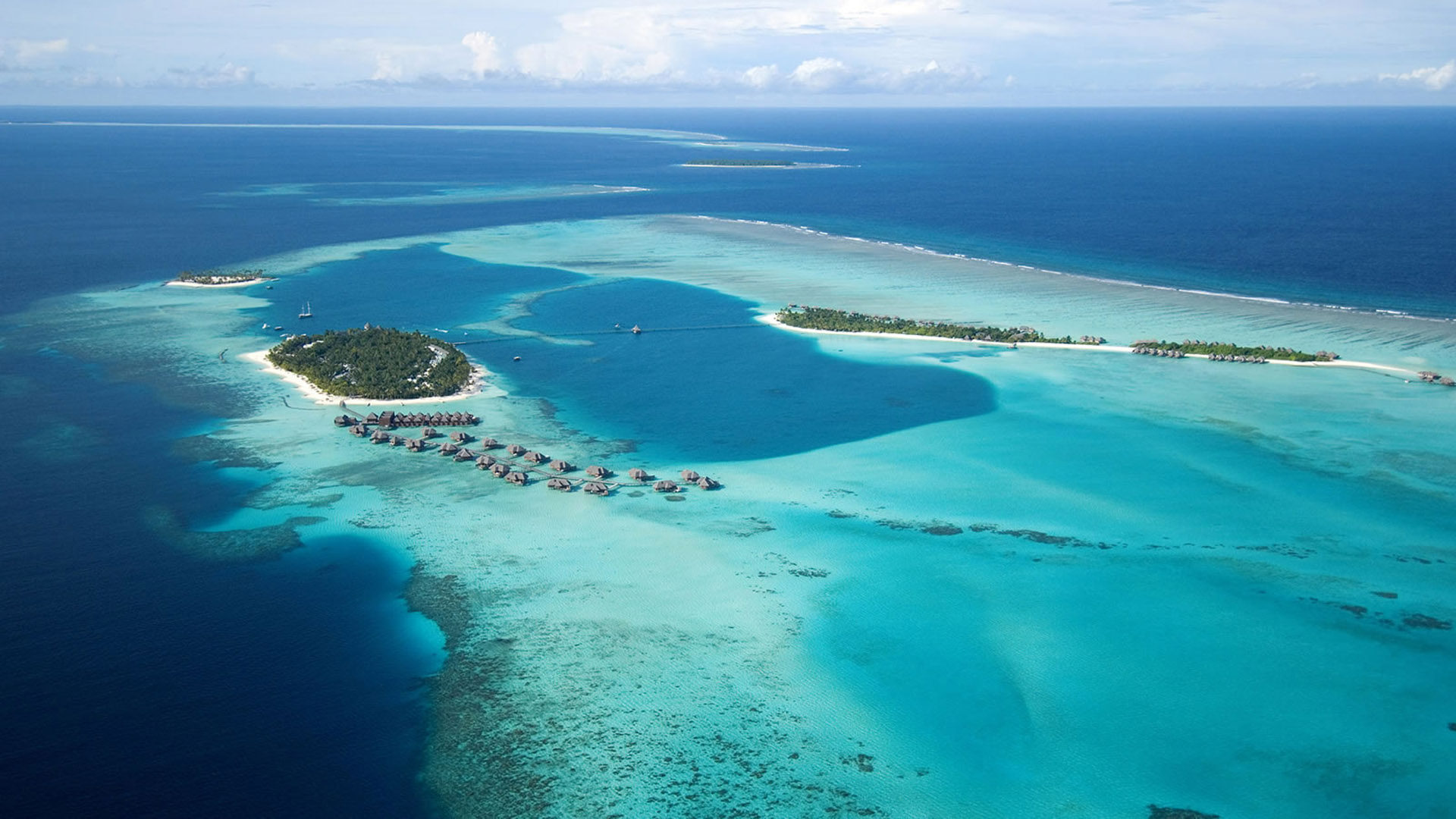 Hd Girl Wallpaper For Android Conrad Maldives Rangali Island Resort Indian Ocean Aerial