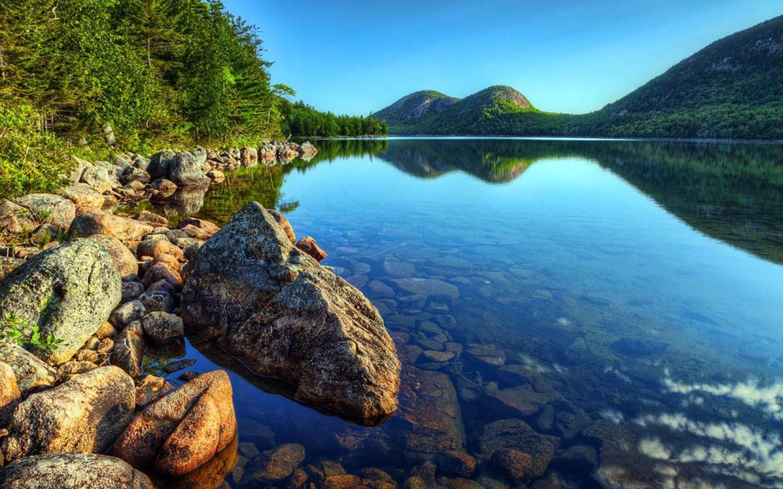 Bali Wallpaper Iphone Acadia National Park Maine Jordan Pond Wallpaper Hd
