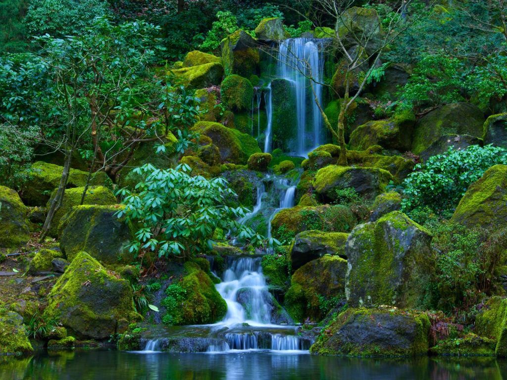 Beautiful Cars Wallpapers Free Download Portland Japanese Garden Located In Washington Park And