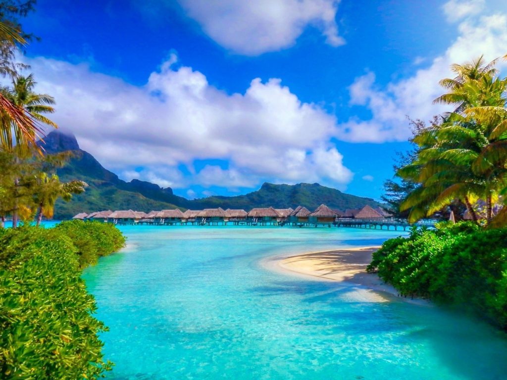 Iphone 5 Hd Wallpapers Cars Tahiti Bora Bora Intercontinental Resort Thalasso Spa