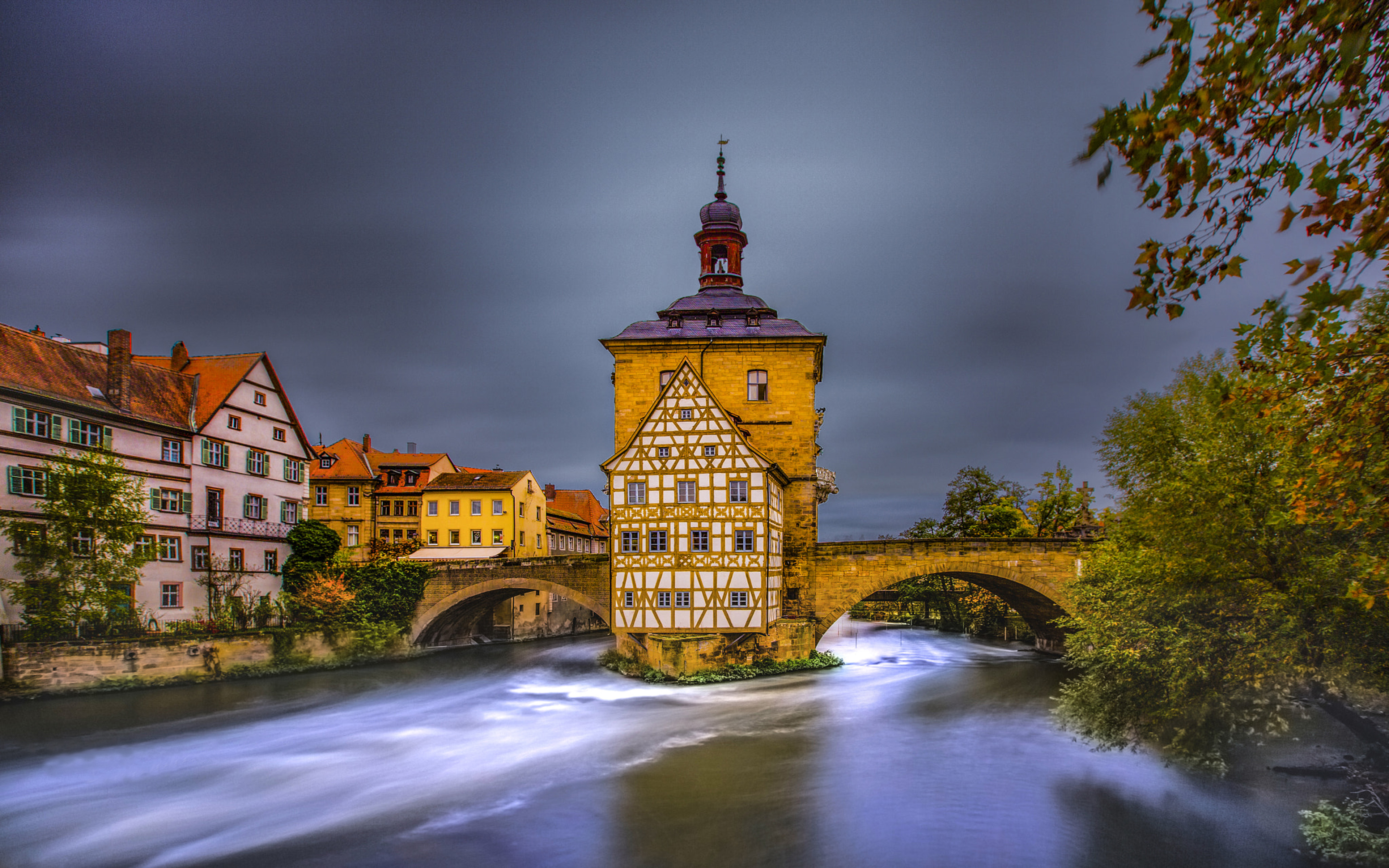 Hong Kong Wallpaper Iphone X Bamberg Is A City In Northern Bavaria Germany Landscape