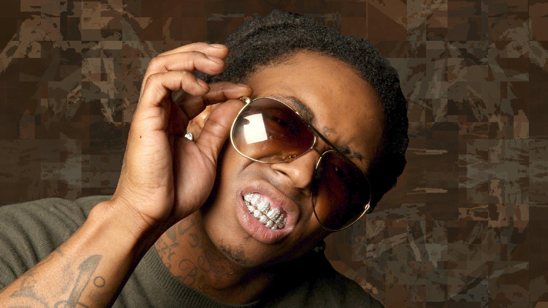 Lil Wayne 3d Wallpaper Download Wallpaper 1920x1080 Lil Wayne Man Teeth Tattoo