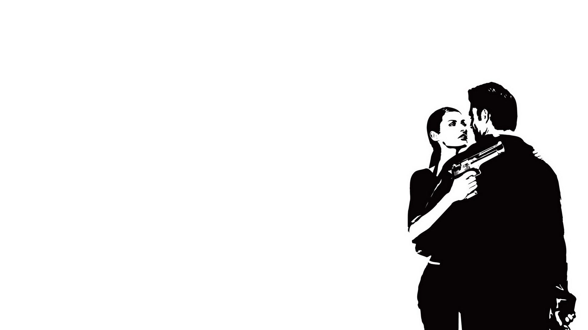 Max Payne 2 The Fall Of Max Payne Wallpaper Download Wallpaper 1920x1080 Max Payne Female Gun Look