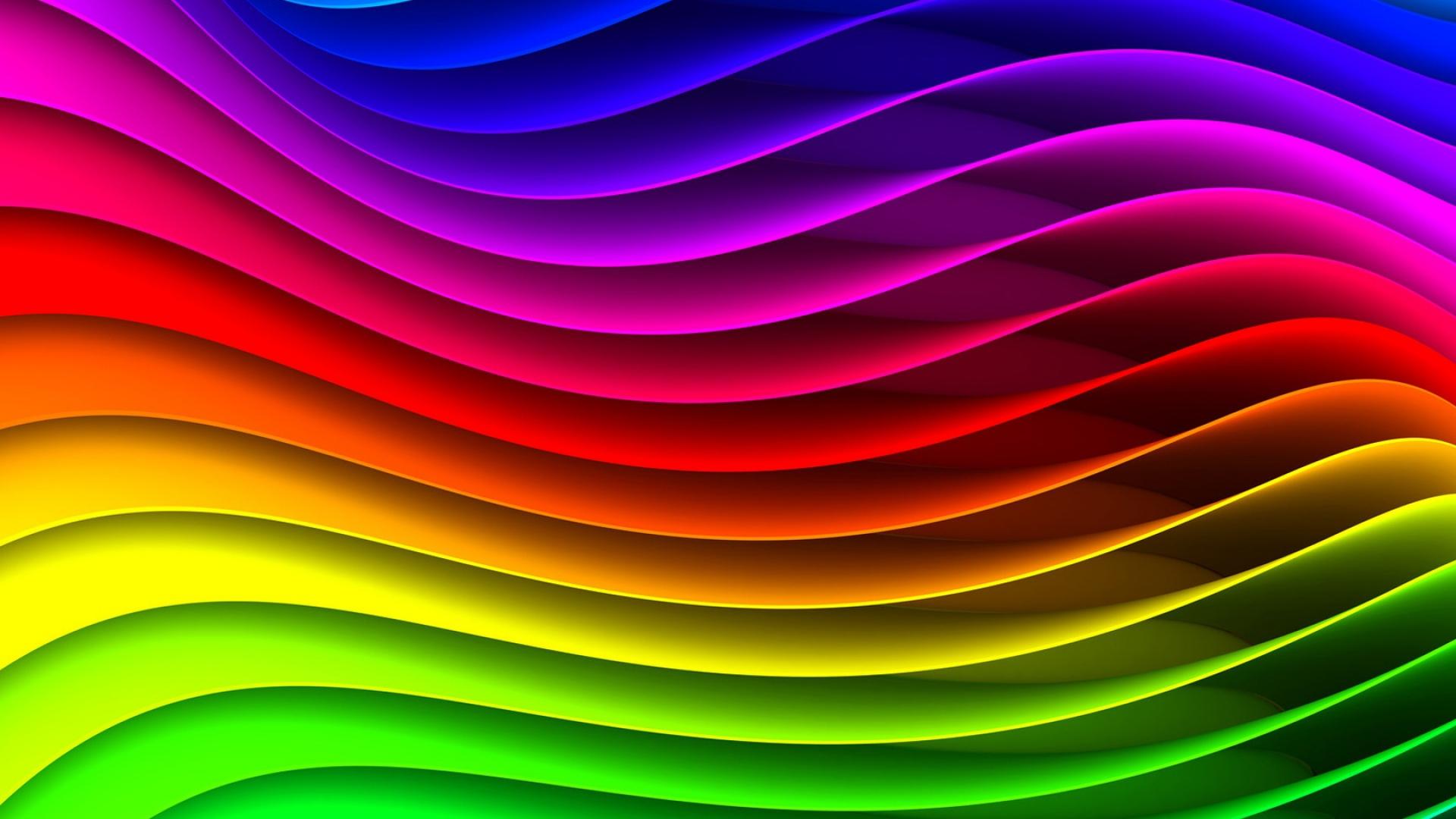 Background Hd Wallpaper Girl Download Wallpaper 1920x1080 Spectrum Rainbow Background