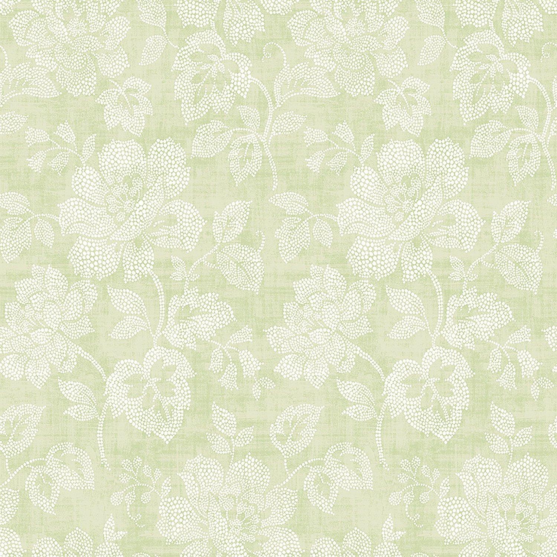 Black And Cream Damask Wallpaper 2702 22734 Tivoli Sage Floral Mirabelle Street Prints