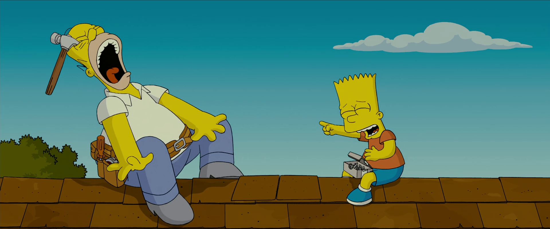 Crazy 3d Wallpapers Hd The Simpsons Movie Wallpapers Hd Backgrounds