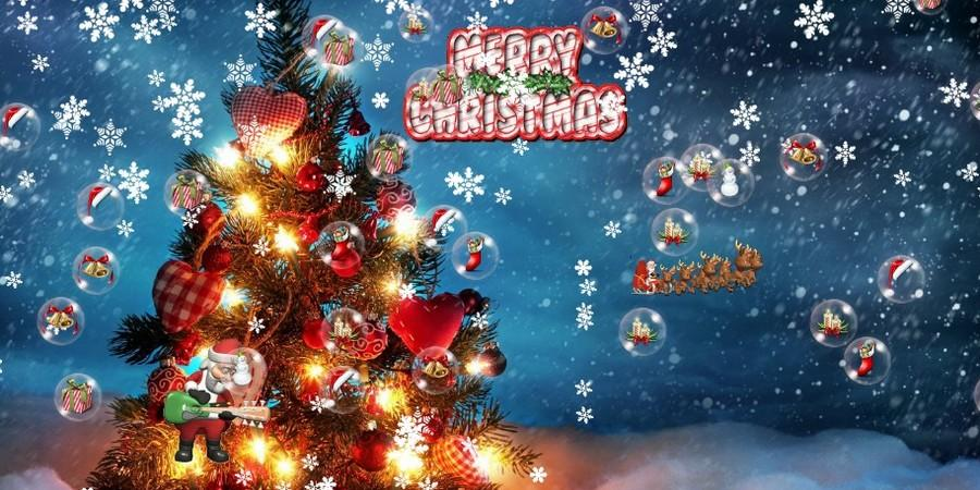 3d Wallpaper For Bedroom Walls Download Merry Christmas Live Wallpapers Gallery