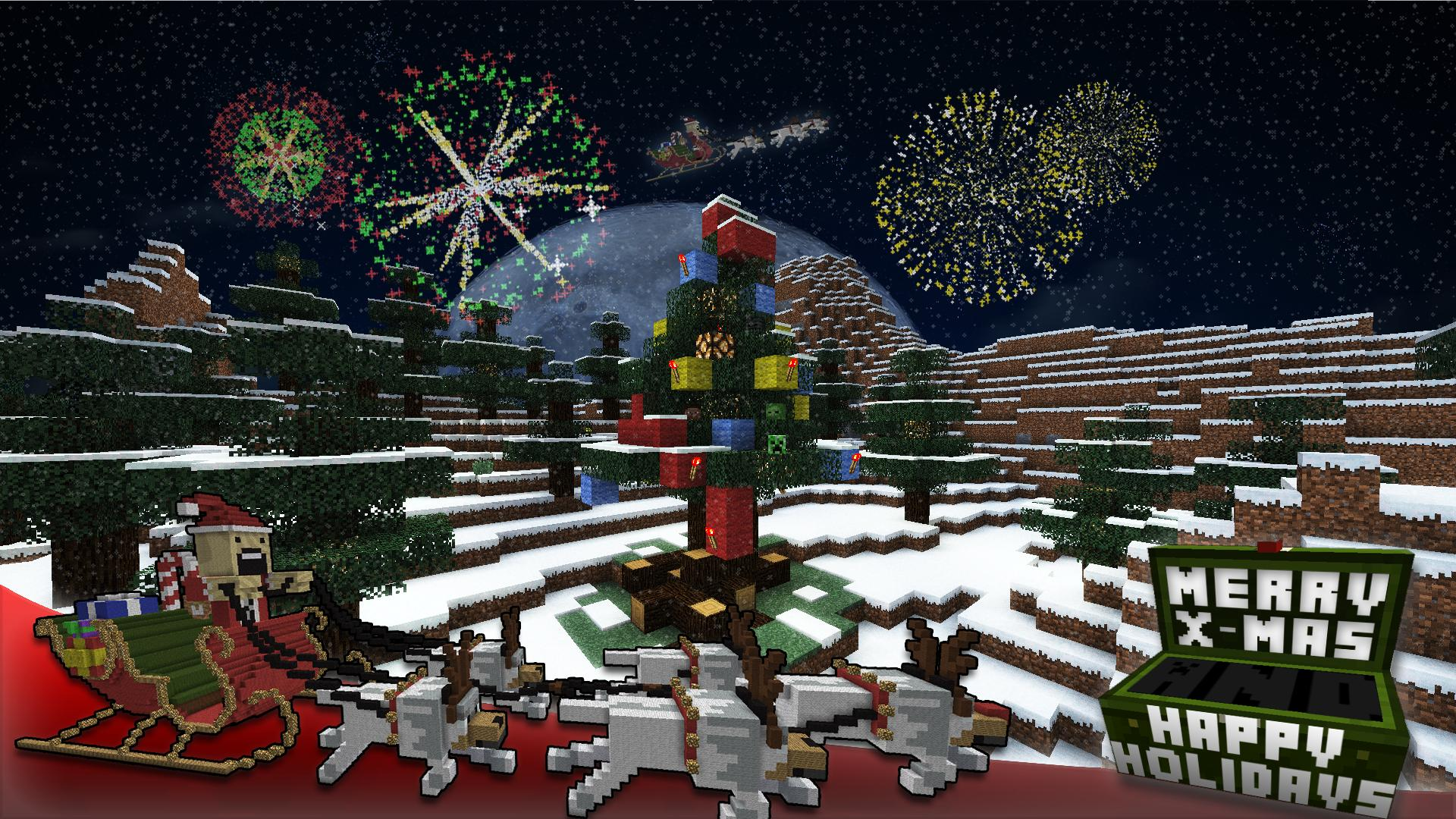 Batman 3d Live Wallpaper Download Minecraft Christmas Wallpaper Gallery