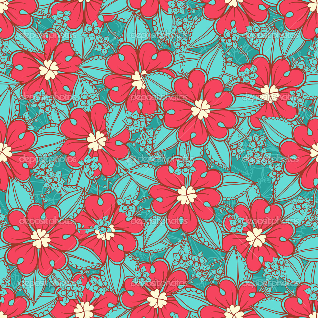 3d Valentines Live Wallpaper Download Turquoise Wallpaper With Pink Flowers Gallery