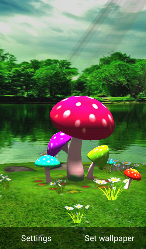 Cheap 3d Wallpaper Uk Download 3d Mushroom Live Wallpaper For Pc Gallery